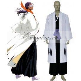 Bleach 9th Division Captain Tousen Kaname Cosplay Costume