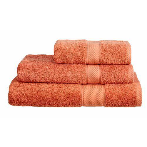 5 Piece Esmeralda Amada Towel Set Symple Stuff Colour Terracotta