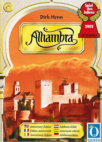 ♥ Alhambra est un jeu de tuiles et de cartes qui a obtenu le Spiel des Jahres en…