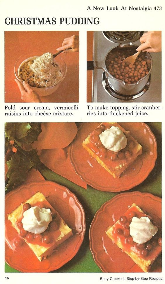 "<b>""Oh, bring us a figgy pudding""... with Jell-O, tuna, and mayo.</b>"