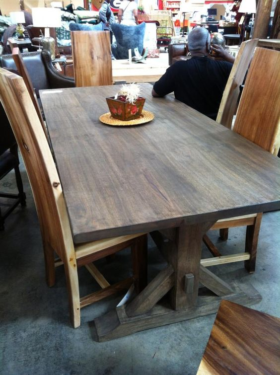 Tops Tables And Solid Wood Table On Pinterest