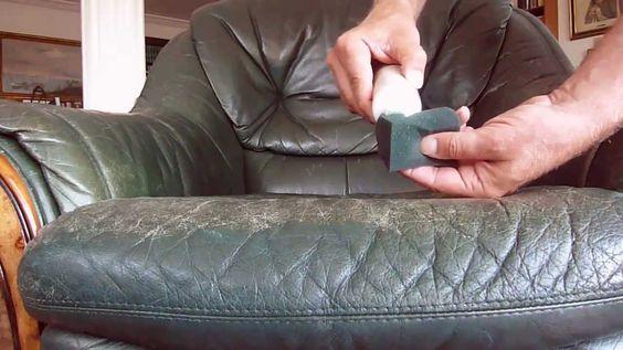 Leather Furniture - Colour Repair -- www.colourlock.com