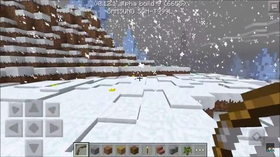Minecraft-snow-biome