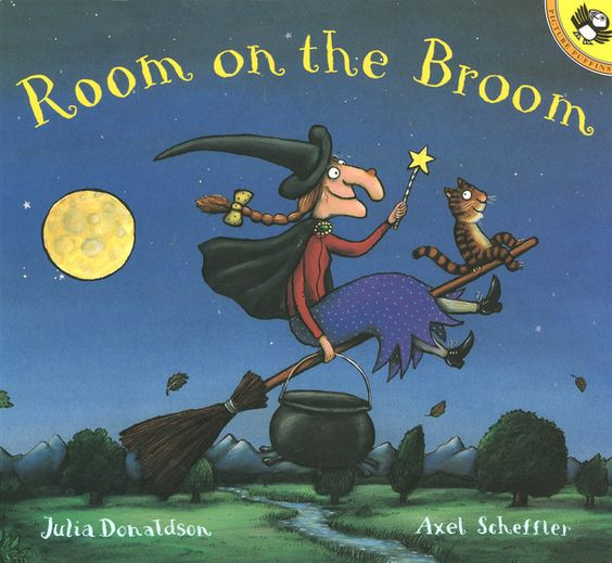 Room on the Broom - Fun Kids' Book to Read Aloud at Halloween, Anytime