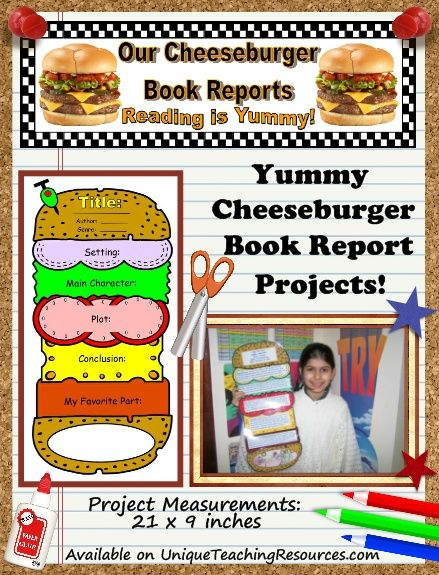 example format of book report