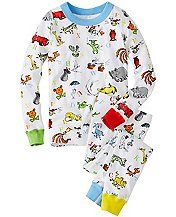 Kids Dr. Seuss Long John Pajamas In Organic Cotton | Hanna Andersson