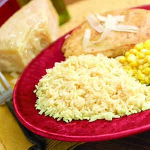 Golden Parmesan Chicken and Rice