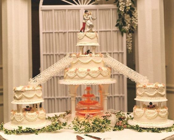 wedding cake bridges and stairs bridge wedding cakes with fountains wedding cakes with 22095