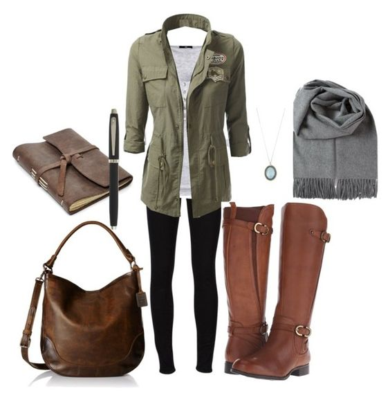"""Elena gilbert inspierd road trip outfit"" by vintagegirl1982 on Polyvore featuring Frame Denim, H&M, Naturalizer, Frye, Armenta, FOSSIL, Sheaffer, tvd, roadtrip and Elena"
