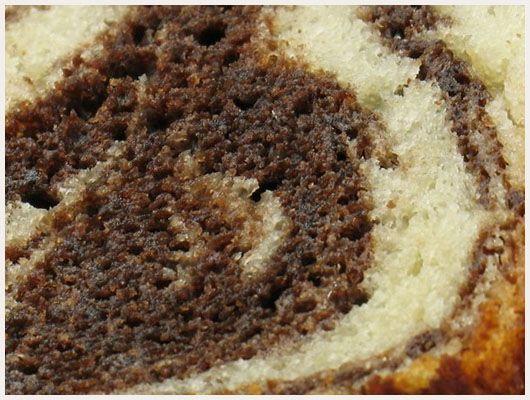 Gateau marbré au chocolat réalisé par Mlle Gâteau