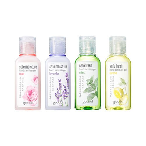 5 48 Aud Goodal Safe Fresh Hand Sanitizer Gel 30ml Roseau