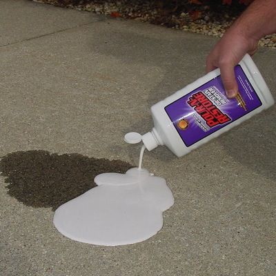 A well stains and homemade on pinterest for Homemade cleaning solution for concrete