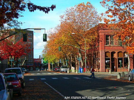 Downtown Bellingham Washington Livegoodbehappy Www Livegoodbehappy Com Bellingham Washington