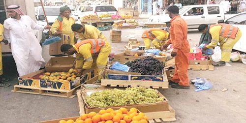 أمانة منطقة الرياض تصادر 10 أطنان من الخضار والفاكهة شبكة سما الزلفي Toddler Bed Toddler Bed
