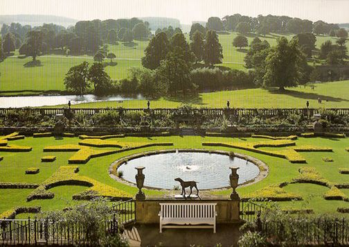 To be english and parks on pinterest for Capability brown garden designs