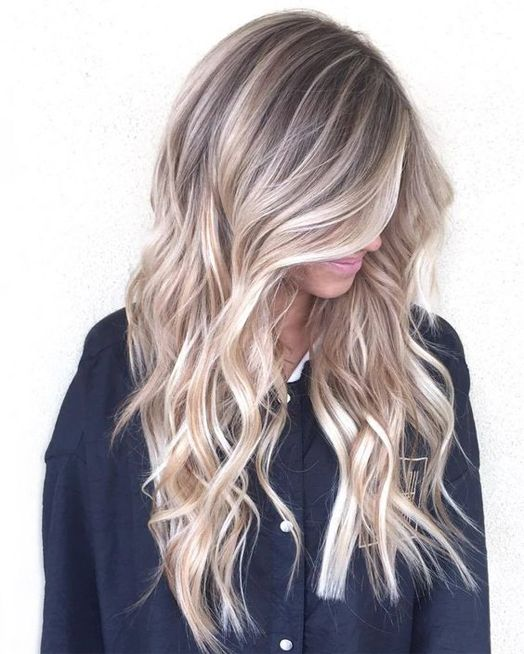 Blonde Hair With Color 31