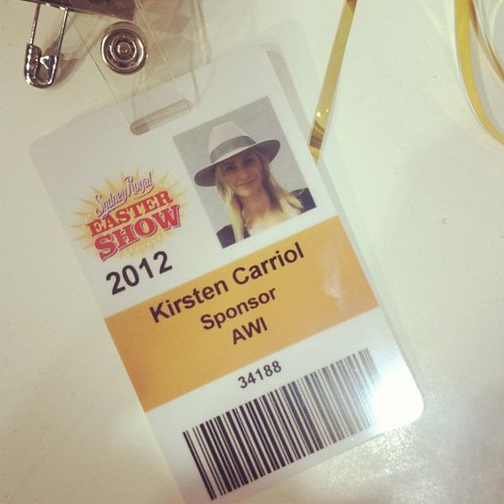 Royal Easter Show, 2012 (Lanolips is a sponsor - we've been supporting fleece since way back)