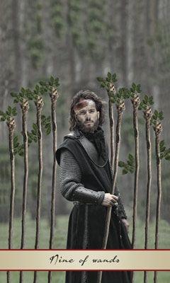 Nine of wands