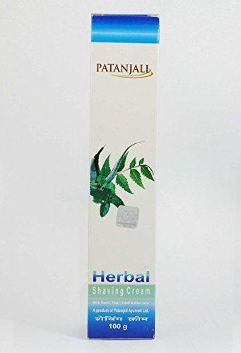 Patanjali Herbal Shaving Cream PATANJALI http://amzn.to/1TN6Xj6