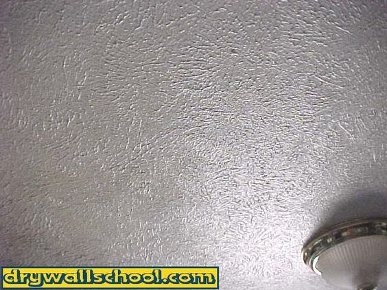 Drywall pictures of and crows feet on pinterest for Popular drywall textures