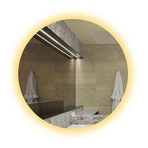 Qz Bathroom Vanity Mirror Wall Mounted Led Smart Mirror Touch Switch Anti Fog Waterproof Explosio In 2020 Led Vanity Lights Wall Mounted Mirror Lighted Vanity Mirror