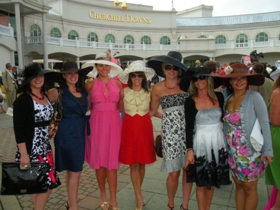 churchill downs and fitness fashion on
