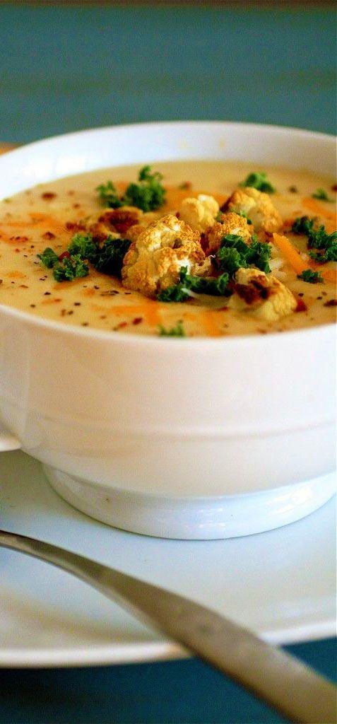 ... Cauliflower Soup | Recipe | Soups, Cauliflower soup and Cauliflowers