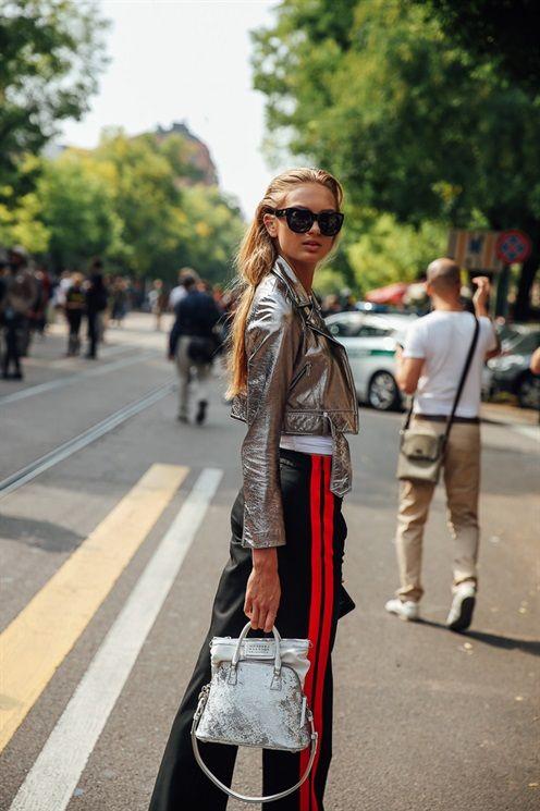 ROMEE STRIJD - Model's look: lo stile delle modelle alle sfilate di Milano - Vogue.it - September 2016