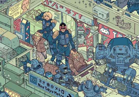 """""""The Raid"""" – Section 2 by Josan Gonzalez & Laurie Greasley"""