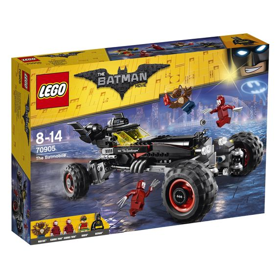 THE LEGO BATMAN MOVIE Das Batmobil 70905