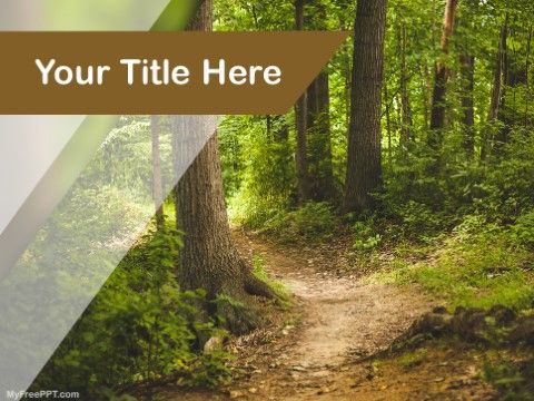 Free Save Jungle Ppt Template Free Ppt Template Ppt Templates