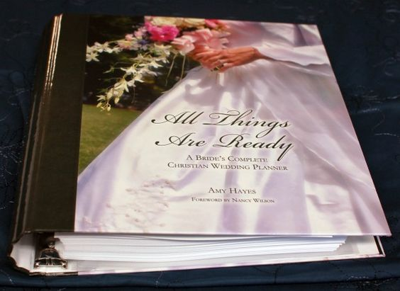 The new Christian wedding planner by Amy Hayes!: