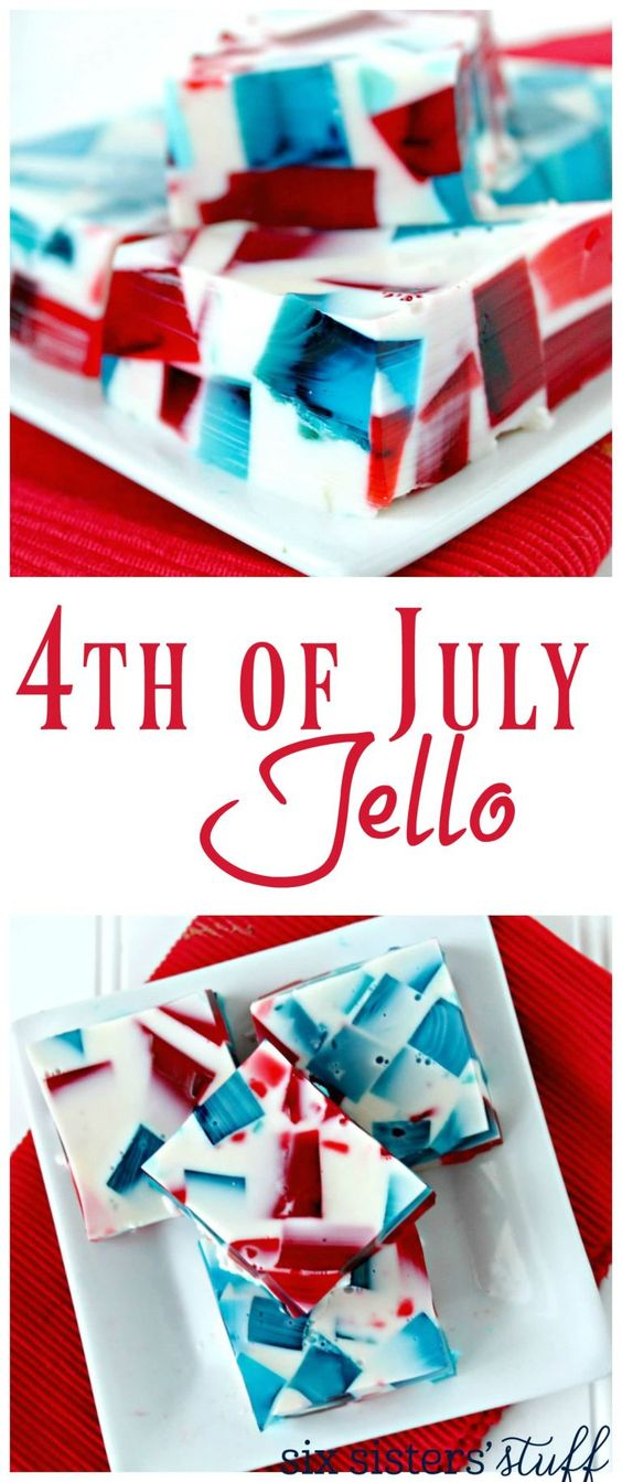 4th of July Jello