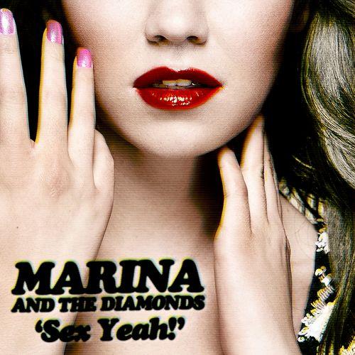 Marina and the Diamonds – Sex Yeah (single cover art)