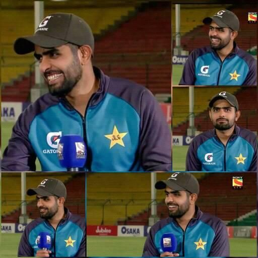 Million Dollar Smile That Matters The Most Mashaallah Babar Azam Live Cricket Match Today Live Cricket Cricket Score