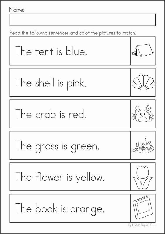 Printables Read And Color Worksheets summer review literacy and worksheets kindergarten math activities 104 pages a page from the unit read color