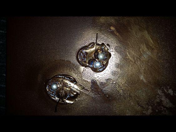 Echte Perlen aus Dubai in Acryl