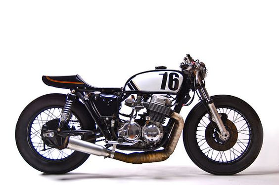 A new slant on the perennial CB750 from Washington, DC-based MotoHangar.