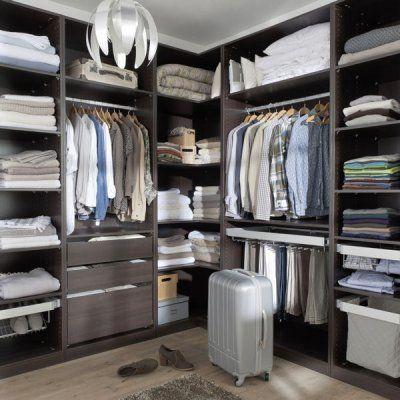 extension d 39 angle pour dressing darwin de castorama pour la maison home pinterest. Black Bedroom Furniture Sets. Home Design Ideas