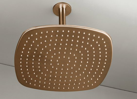 COCOON PB31 Ceiling mounted rain shower - raw copper €850