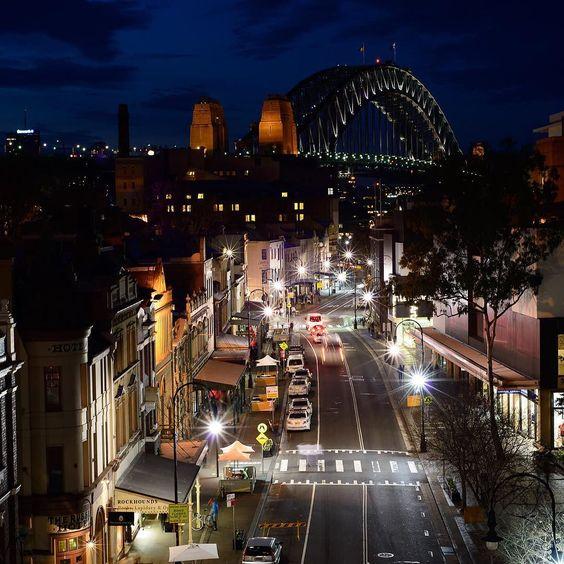 Quiet evening on George St The Rocks Sydney. by paulcampbellphoto http://ift.tt/1NRMbNv
