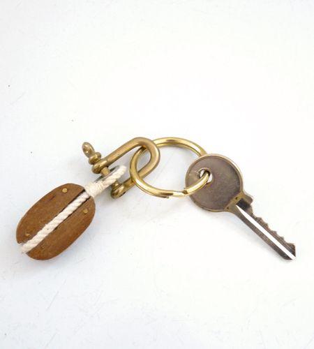 Block & Tackle Keychain