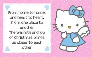 Hello Kitty Christmas Quotes Tag Label Printable - Best Gift Ideas Blog