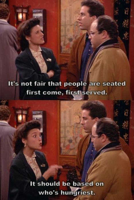 Elaine Benes telling it like it should be | the Giggler in ...