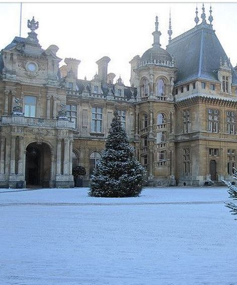 waddleston manor in winter