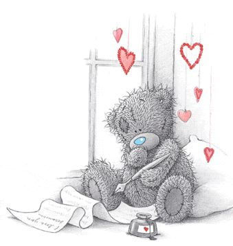 Tatty Teddy Love Letters: