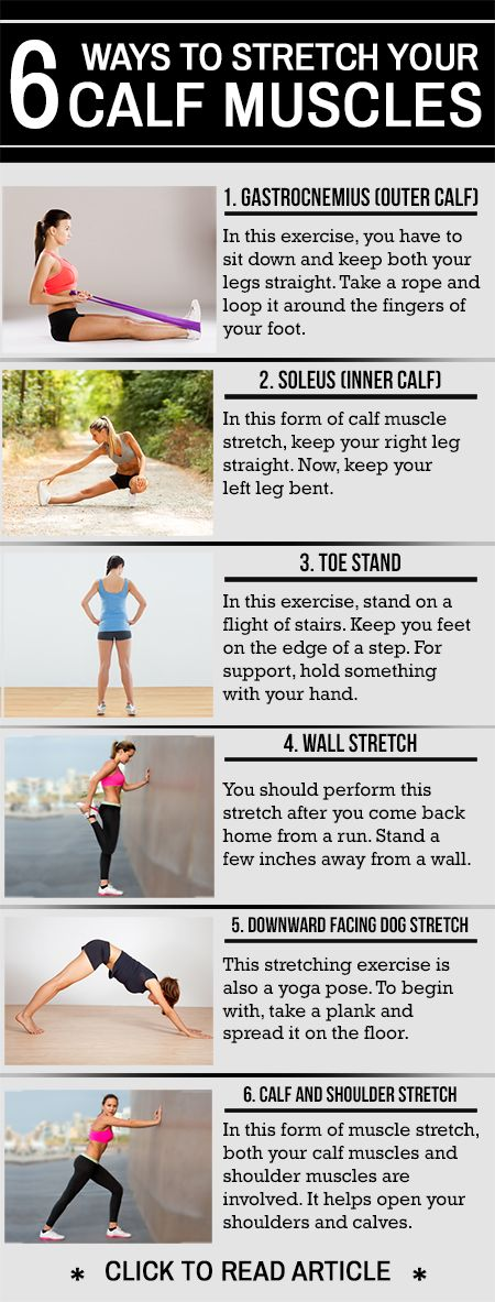 Do you often suffer from ankle pain? Or does your foot often ache? Want to know how to stretch calf muscles? Check out these 6 simple yet effective ways to strectch
