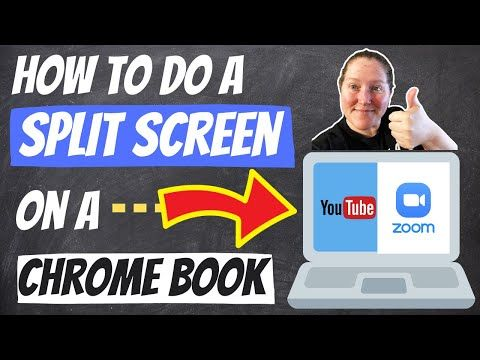How To Do A Split Screen On A Chrome Book Video Quick Tutorial Youtube Digital Learning Classroom Online Teaching Chromebook