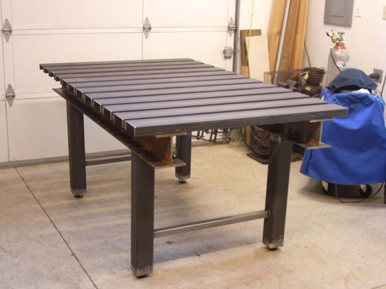 Welding Table idea: