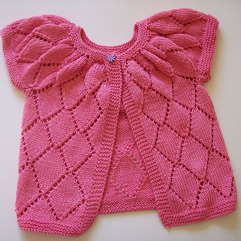 Baby Girl Knitted Sweater Pattern : Knitmeasweater : FREE KNITTED PATTERN BABY CARDIGAN DISCLAIMER ... Knitting...